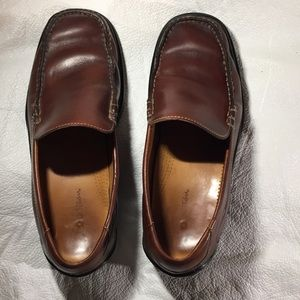Cole Haan Nike Air brown leather loafers Sz 8